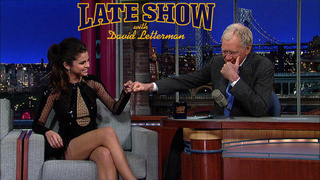 Selena Gomez Is Going to Need a Few Extra Bodyguards After This Serious Justin Bieber Burn on Last Night's Letterman
