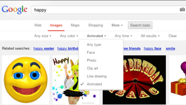 Google Is Adding Animated GIF Search