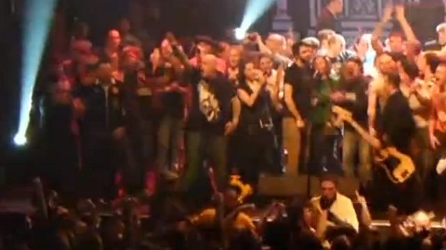 Dropkick Murphys Singer Kicks the Crap Out of Skinhead Doing Nazi Salute on Stage During St. Patrick's Day Concert