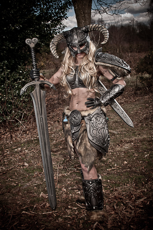 This Skyrim Cosplay Will Make You Shout 'Fus Ro Dah ...