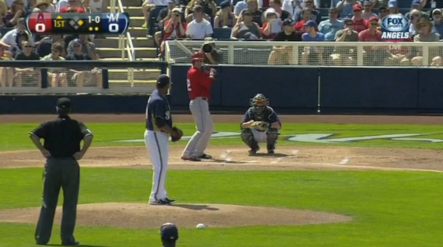Why Is This Ump Calling Pitches From Behind The Mound?