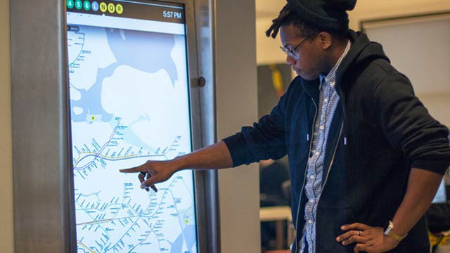 Click here to read New York City Is Getting Futuristic Touchscreen Subway Maps