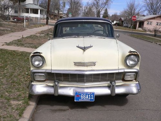 1956 Chevrolet Sedan Down On The Denver Street