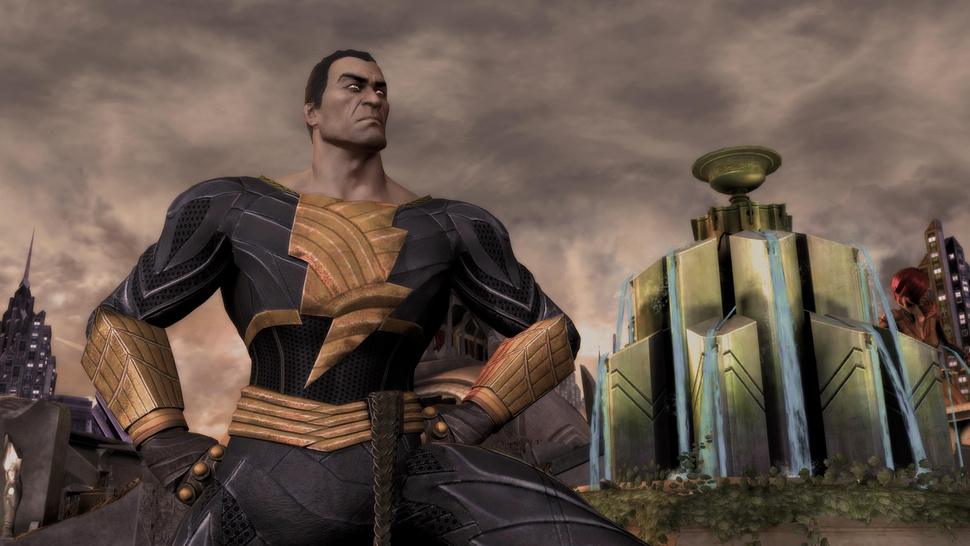 <em>Injustice</em> Gets a Little More Villainous by Adding Black Adam. You Can Try Him Out at PAX East.