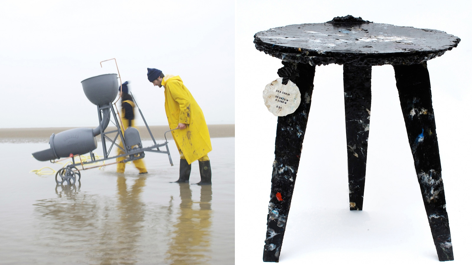 The Sea Chair Is Made Entirely From Plastic Recovered Our Oceans Giant Floating Garbage Patches Designed By Studio Swine Kieren