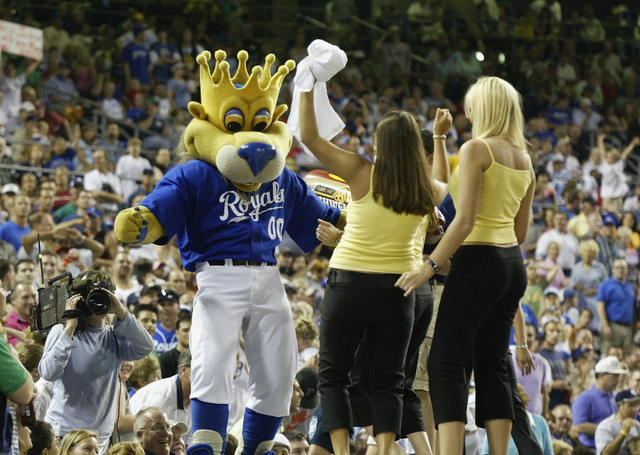 Does Sluggerrr, The Kansas City Royals Mascot, Enjoy Lap Dances…