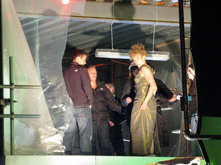 Doctor Who Set Photos part 1