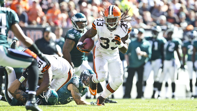 Trent Richardson Says The New Helmet Rule Is About Him. It's ab…
