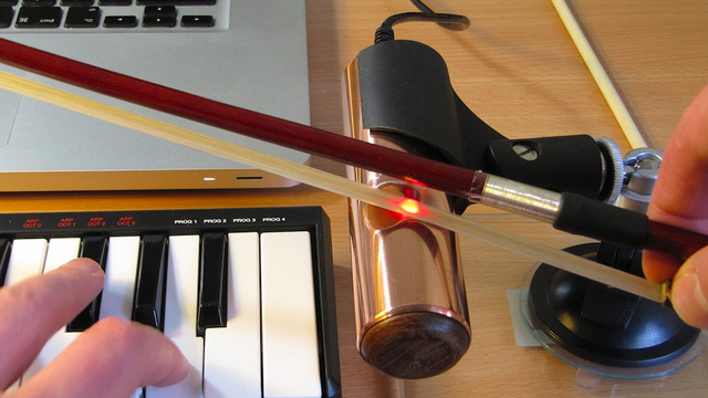 Click here to read A Laser Violin Would Have Surely Blown Amadeus' Mind