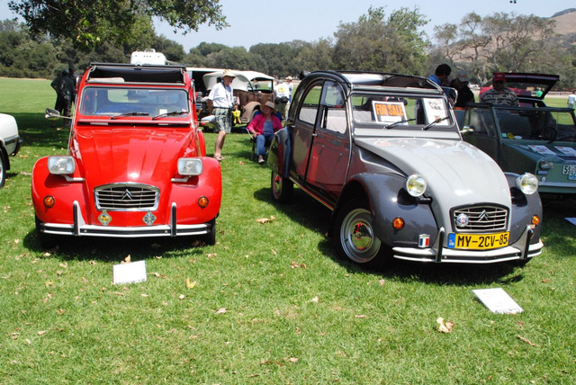 Vehicles Of The 2009 Concours d'LeMons