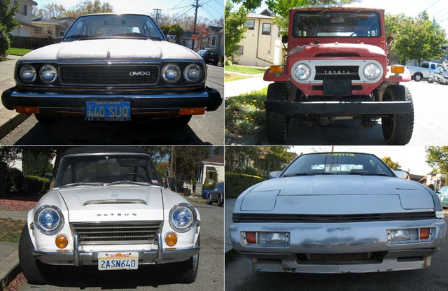 Celebrating 450 Old Vehicles Down On The Alameda Street: The Japanese