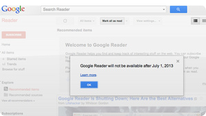 Google Shut Down Reader Because It Was Scared of More Screw-Ups