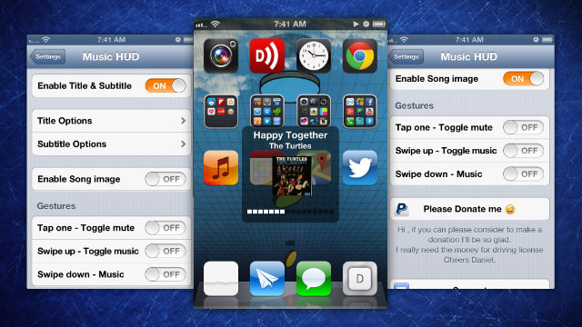 Click here to read Music HUD Adds Useful Info to Your iPhone's Volume Display