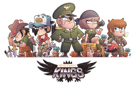 PAX East 2013: Mercenary Kings