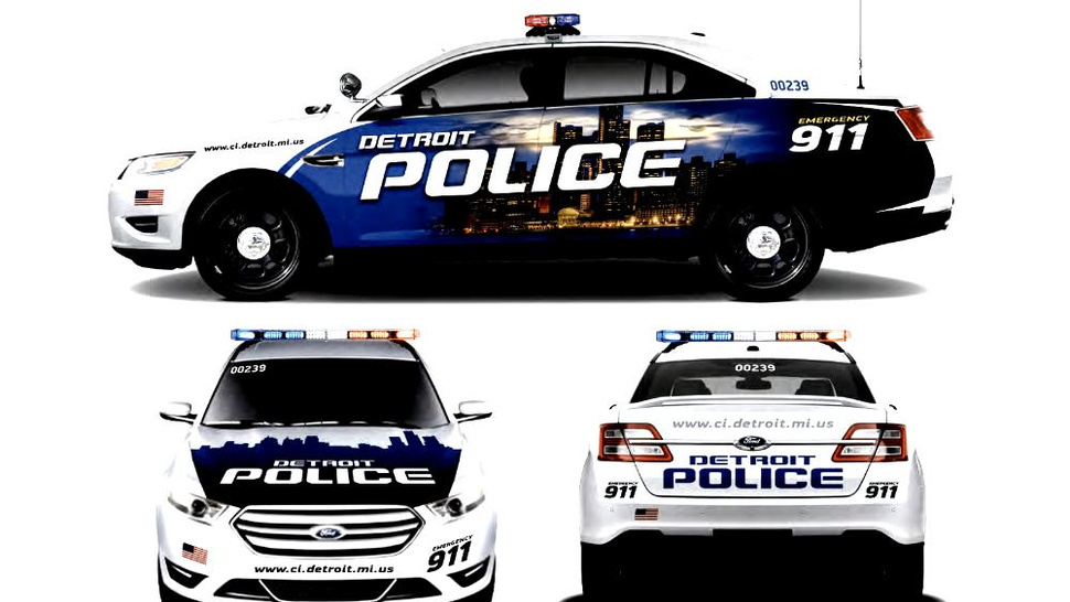 What Is A Livery Vehicle >> New Detroit Police Car Livery