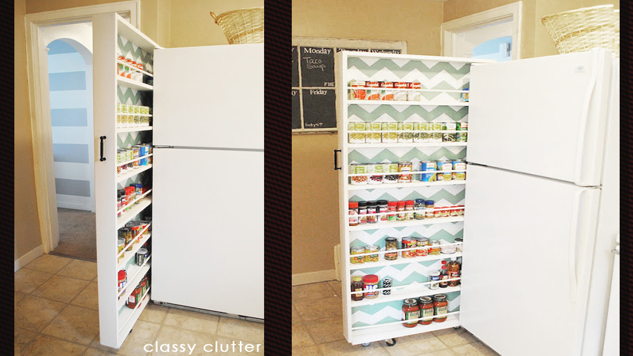 Build a space saving roll out pantry lifehacker australia