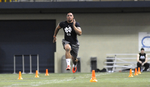 Manti Te'o's 40-Yard-Dash Was Slightly Better Than His Last 40-…