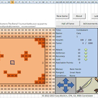 Awesome Accountant Made an Entire RPG Game Inside Microsoft Excel