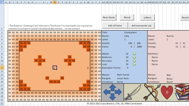 Click here to read Awesome Accountant Made an Entire RPG Game Inside Microsoft Excel