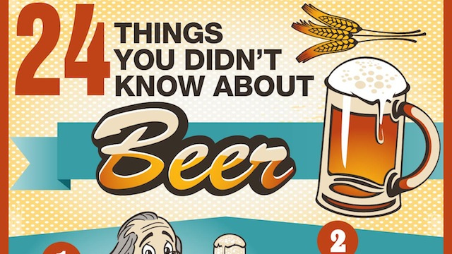 Click here to read 24 Facts You Didn't Know About Beer
