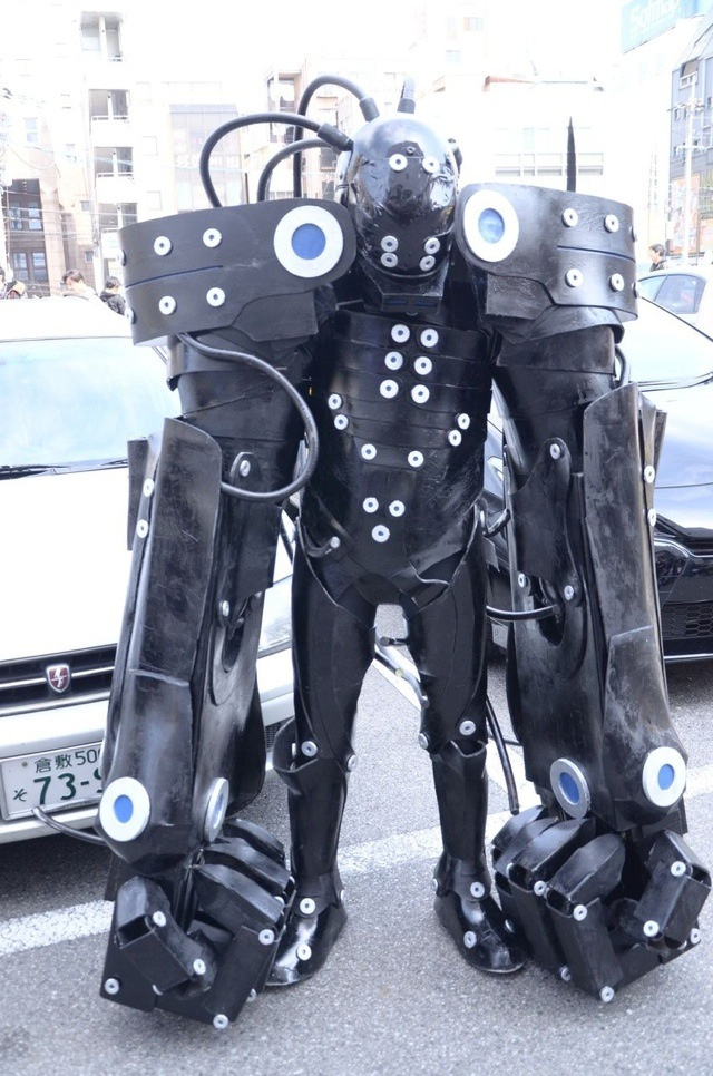More Cool, Amazing, and Totally Odd Japanese Cosplayers