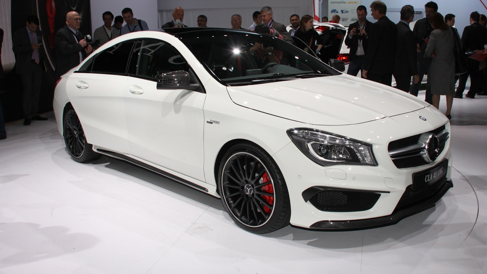 The MercedesBenz CLA 45 AMG Is The Cheapest Way Into The ber Car