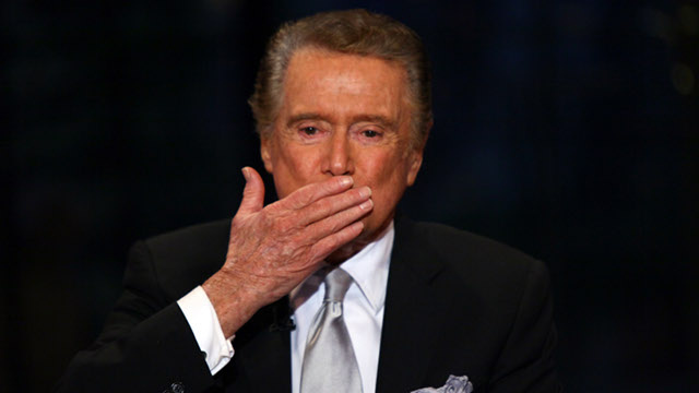Regis Philbin Says Goodbye To Live! With Regis And Kelly