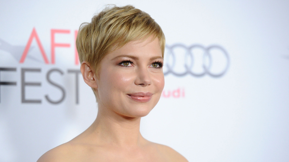 Michelle Williams quote about short hair