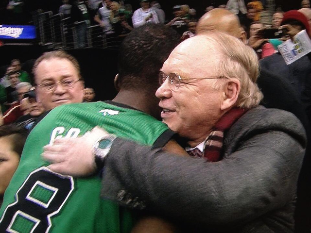 Jeff Green Hugged His Heart Surgeon After Making Game-Winning L…