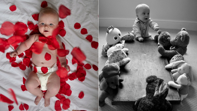 Adorable Baby Adorably Recreates Scenes From Classic Movies