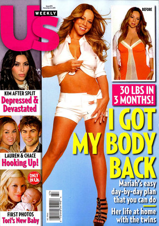 This Week In Tabloids: Mariah's Eating 1200 Calories A Day, Hasn't Weighed Herself Since 1998