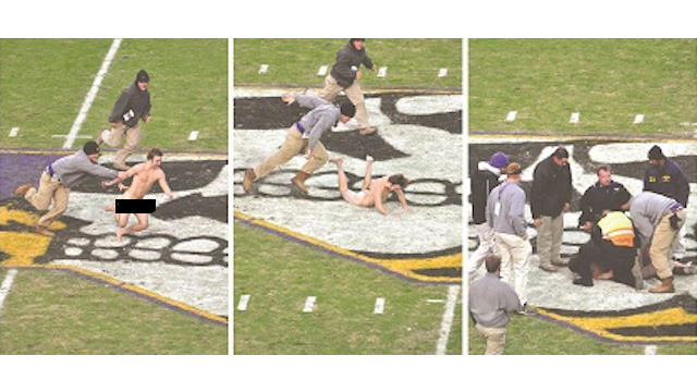 Student Paper Under Fire For Groundbreaking Coverage Of Streaker's Junk