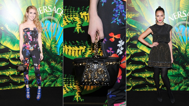 At A Versace Show, You Wear Prints. Loud, Screaming Prints.