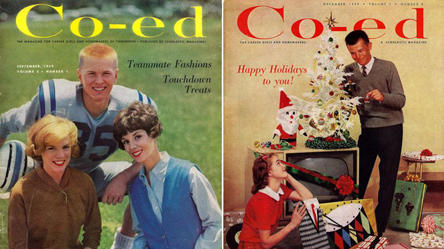 Magazine Of Yesteryear Speaks To Career Girls & Homemakers Of Tomorrow