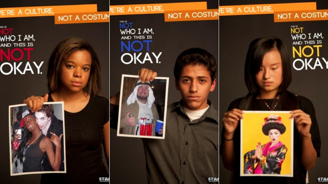 Students Campaign Against Racist Halloween Costumes