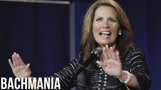 Michele Bachmann Would Be A Great President In The Imaginary World She Made Up