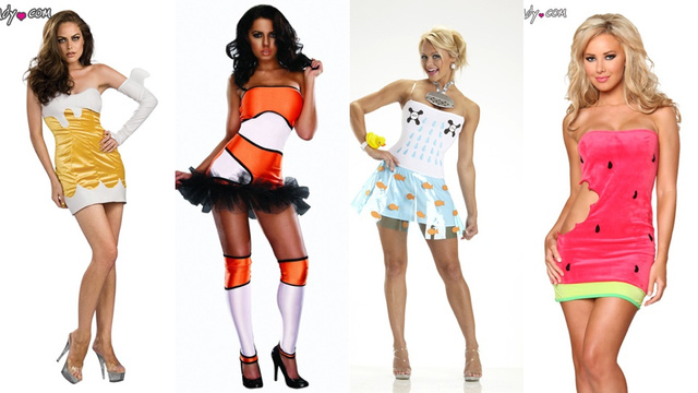 Your Guide To Absurdist 'Sexy' Halloween Costumes