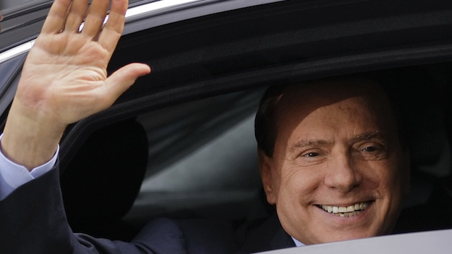 Berlusconi Finally Says He'll Start Pussy Party