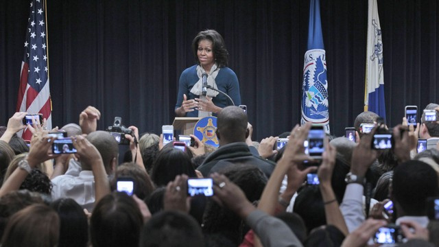 Michelle Obama Visits Secret Service Headquarters, Leaves Terrified