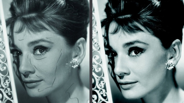 How Audrey Hepburn Was Airbrushed
