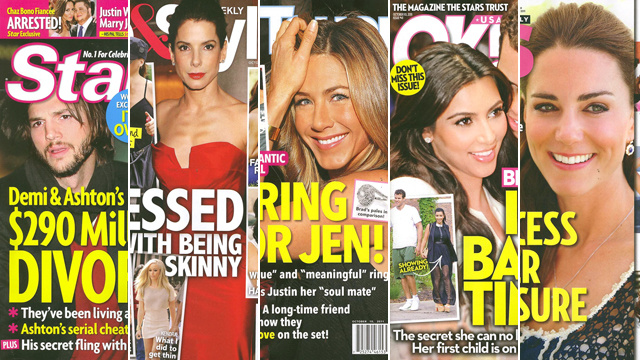 This Week In Tabloids: Ashton & Demi's Divorce Dramz