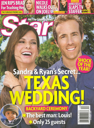 This Week In Tabloids: Ryan & Sandy Plan Barefoot Barbecue Wedding