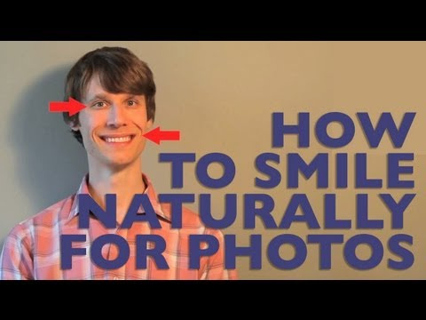 Get a Natural Smile for Photos by Saying Words that End in