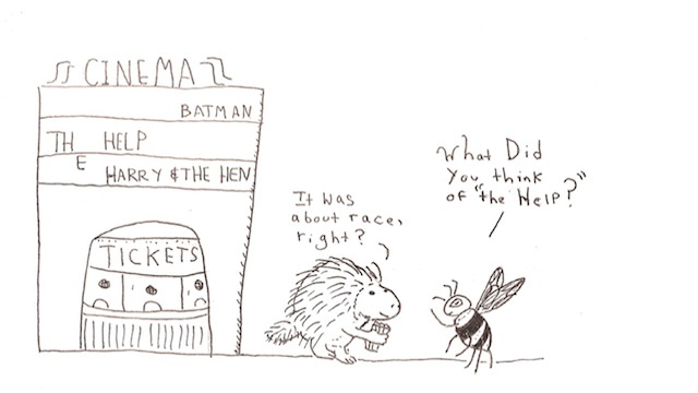 Porcupine And Bumblebee Share Thoughts On The Help