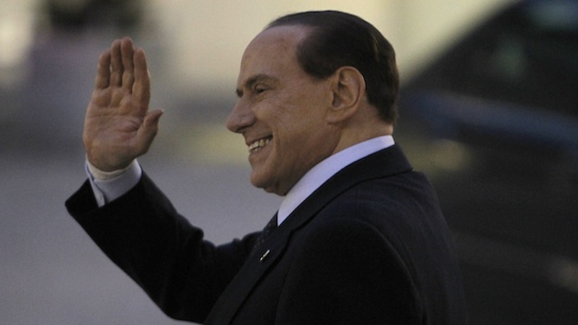 Berlusconi Gets Blackmailed, Says Italy Is 'Shitty'