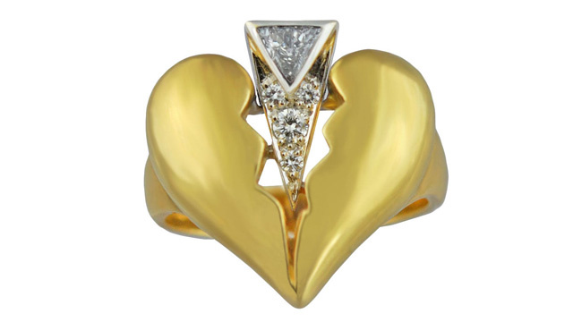 Celebrate Your Split With A Hideous Diamond 'Divorce Ring'