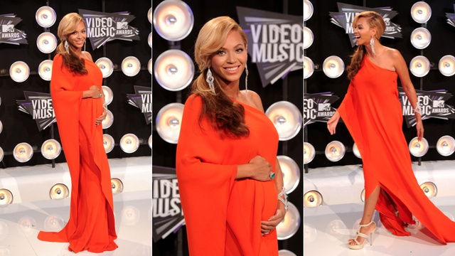 Beyonce Announces She's Pregnant On VMAs Red Carpet