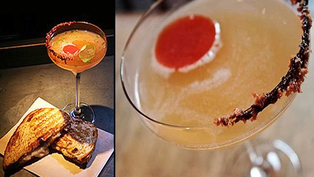 One Grilled Cheese Martini, Please
