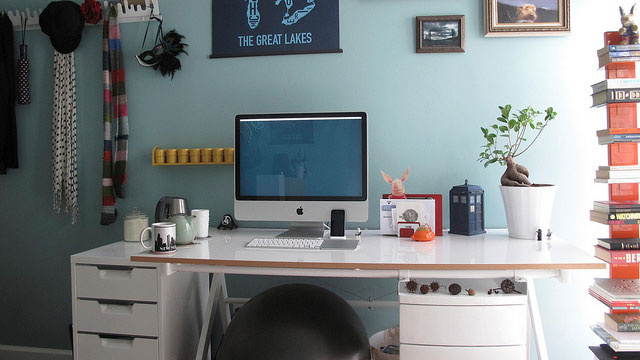 Tea and Toys: The Whimsical Workspace