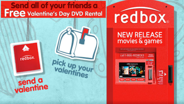 Grab a Free DVD Rental, Ben and Jerry's Ice Cream, and More Valentine's Day Freebies Here